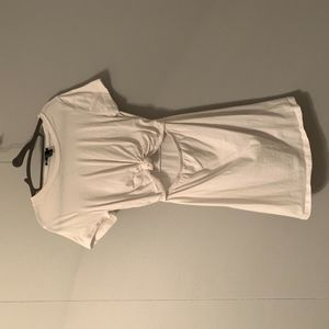 t shirt dress with knot